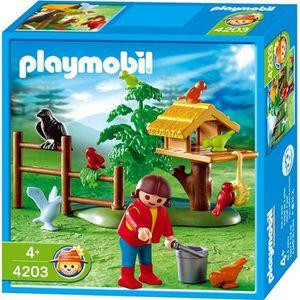 UNIVERS MINIATURE PLAYMOBIL 4203 Enfant/Oiseaux/Nid