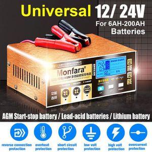 CHARGEUR DE BATTERIE TEMPSA Chargeur de Batterie de Voiture 12v 24v 220