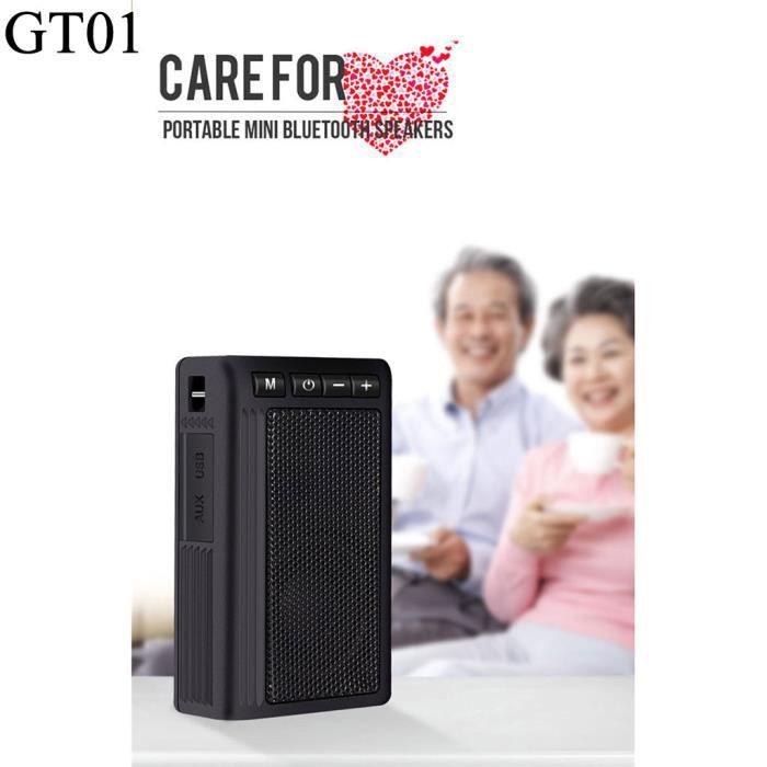 Enceinte Haut-parleur Portable Bluetooth Étanche Sans Fil Avec Radio Fm Mains Libre Tf @bat2597