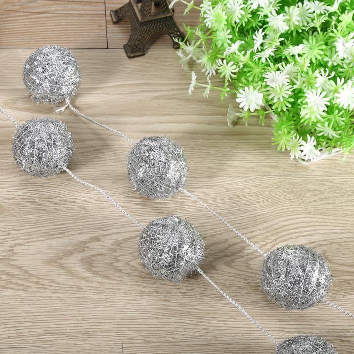Deco noel boule ficelle las principales vacaciones navide as for Boule laser noel