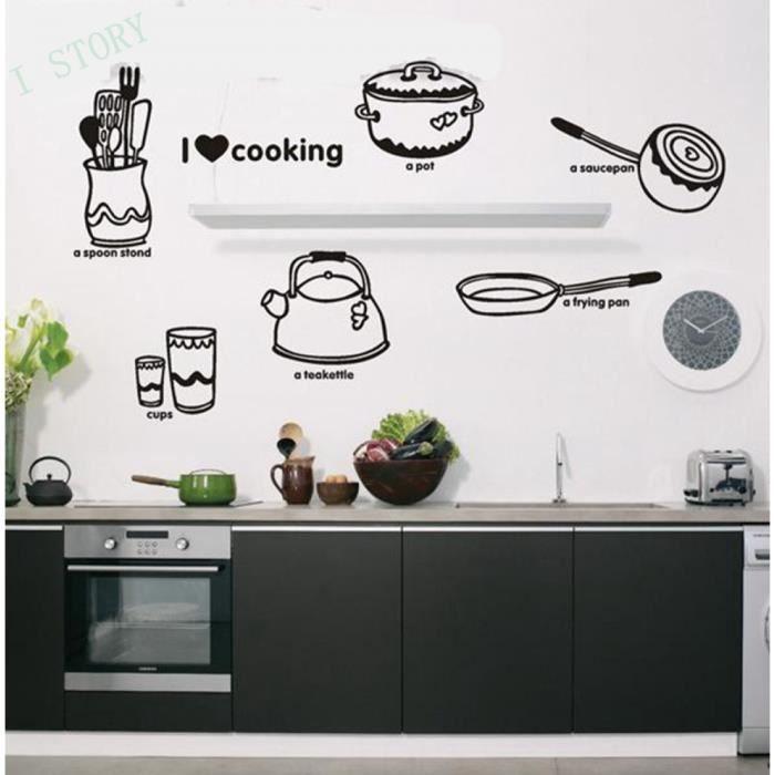 Étanche Et Iopp Salle À Manger / Cuisine Stickers Muraux Décoratifs ...