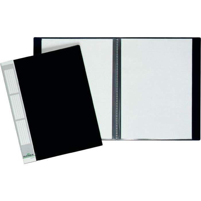 porte vues durable avec 20 pochettes transparentes achat. Black Bedroom Furniture Sets. Home Design Ideas
