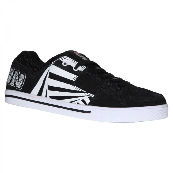 samples shoes VISION STREET WEAR BAILOUT BLACK WHITE WOMEN