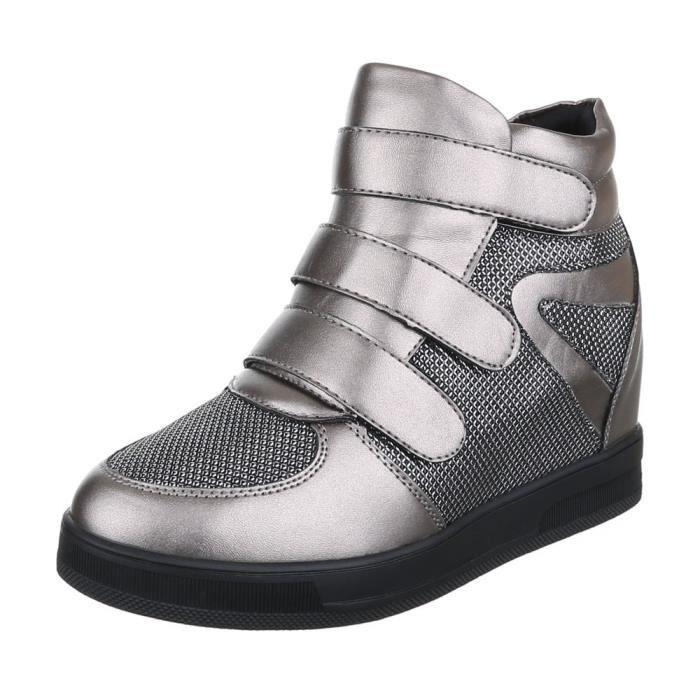 femme bottine chaussure semelle compensée s Boots
