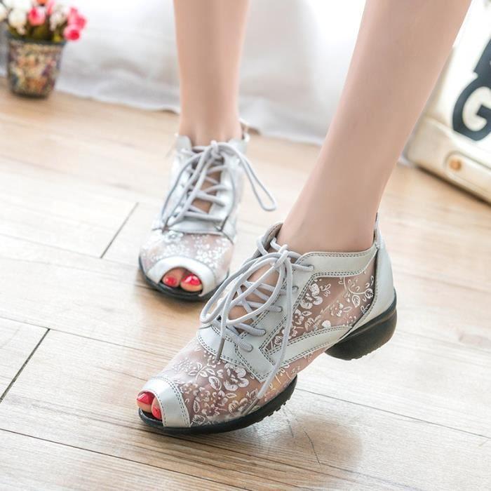 plateforme Chaussures Pompes talon Sexy Femme pour Nouveau Printemps Derbies Casual femmes les 2016 Compensées haut Chaussures Eté OgyFwX