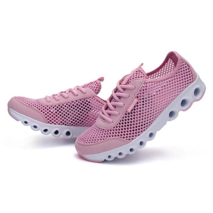 De Nouvelle Rose Sneakers Qualité Haut Marque Chaussures Luxe Poids Femme Loisirs1 Classique Moccasins gris Arrivee Basket Antidérapant wZqvT0ngOx