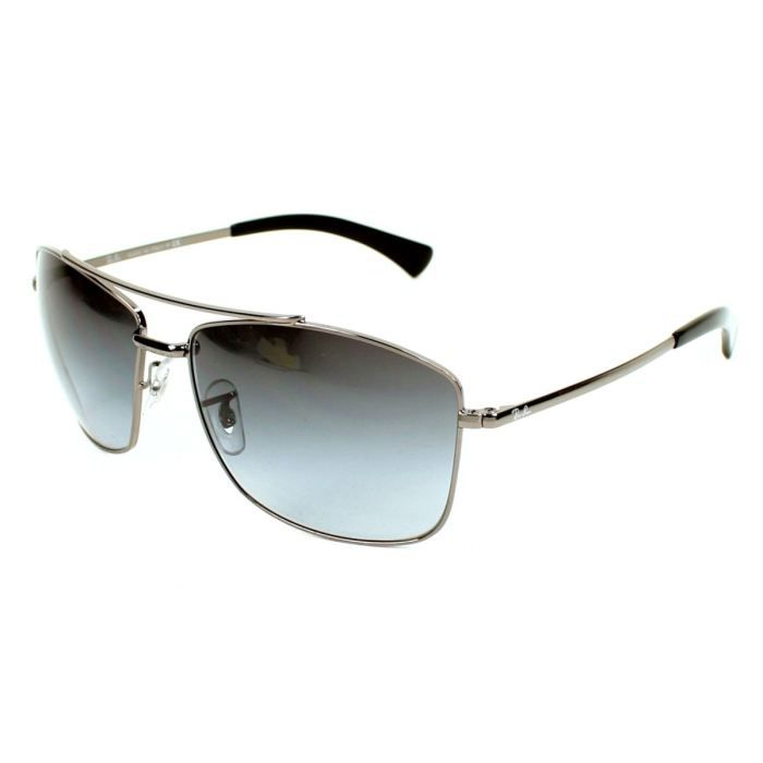 lunette ray ban homme grise