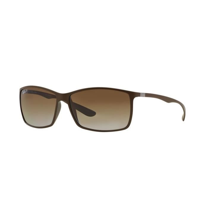 2c4ae3f9864a83 Lunettes de soleil Ray Ban LiteForce RB4179 6124T5 Taille  62 ...