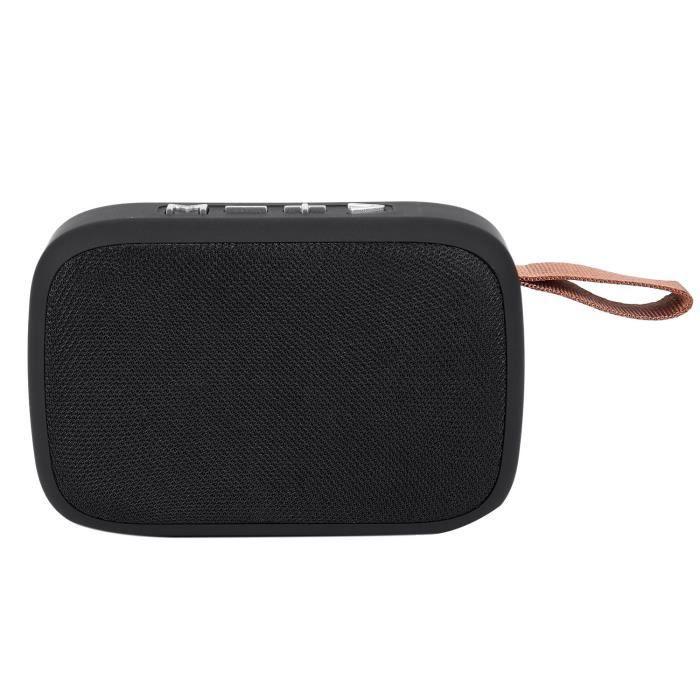 G2 Haut-parleur Portable Bluetooth Avec Audio Hd, Haut-parleurs Stereo Sans Fil Radio Fm, De Meilleures Basses Pour Tablette