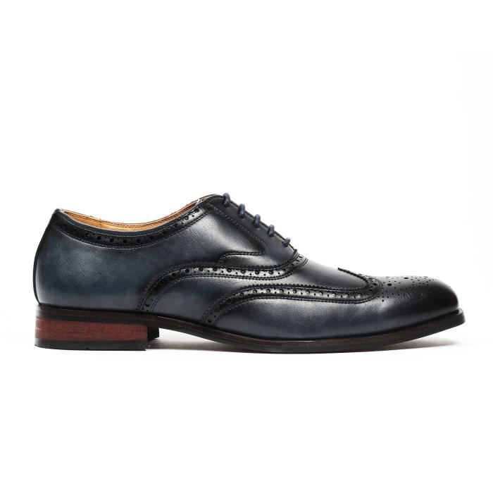 Chaussures Aldo Oxford Wingtip Brogue Robe WY81A Taille-42 1-2