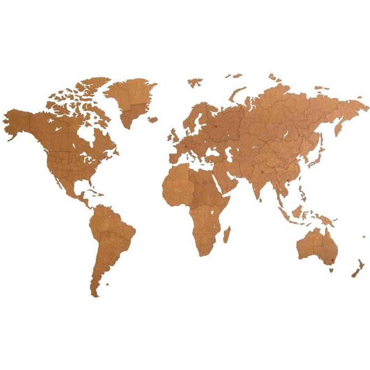 mimi innovations d coration murale g ant carte du monde en. Black Bedroom Furniture Sets. Home Design Ideas
