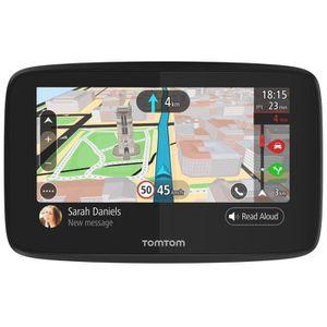 TOMTOM GO 5200 Cartographie Monde Trafic Zones de Danger ? vie et Appel Mains-Libres (1PL5.002.04) Noir