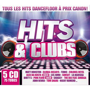 CD COMPILATION HITS AND CLUB - Compilation (5CD)
