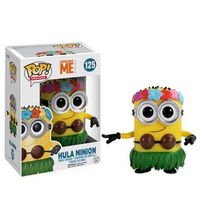 FIGURINE - PERSONNAGE Funko POP Films: Despicable Me 2 - Hula Minion Act