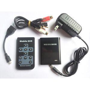 BOITE NOIRE VIDÉO 1 canal Mini DVR 1280 * 720p, détection de mouveme