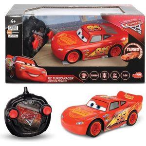 VOITURE - CAMION Voiture télécommandée Disney Cars 3 RC Cars Lightn