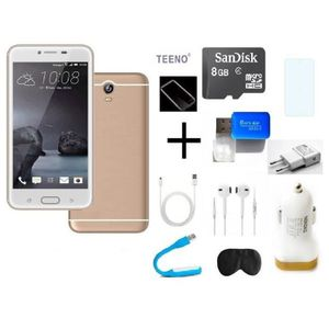 """SMARTPHONE Unlocked Original TEENO® 5.0"""" Smartphone 3G GOLDEN"""