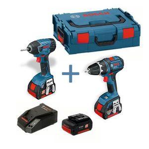 PERCEUSE Pack 2 outils BOSCH Perceuse visseuse GSR 18 V-…
