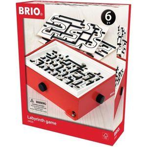 PUZZLE BRIO - 34020 - Jeu De Labyrinthe Et 2 Planches De
