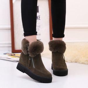 HUIXIN®des bottes imperméables à hauteur de genou bottes hautes bottes pour dames XyY5J