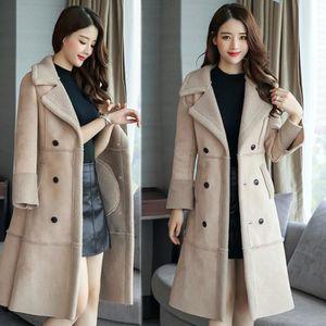 d813e22786f2 MANTEAU - CABAN les femmes l hiver long manteau de laine veste en