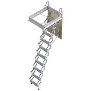 ESCALIER Escalier escamotable droit 50x70cm - Structure et