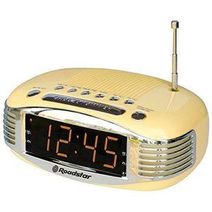 Radio réveil ROADSTAR CLR-1966/CR Radio Réveil Vintage