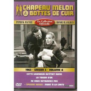 DVD SÉRIE Chapeau melon et bottes de cuir -S3 V4 -1963 - 1 D