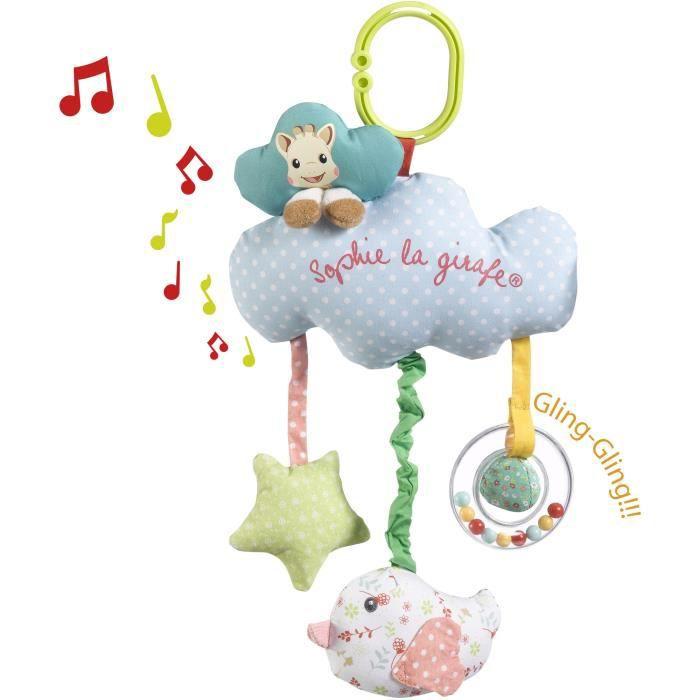 SOPHIE LA GIRAFE Boîte à musique