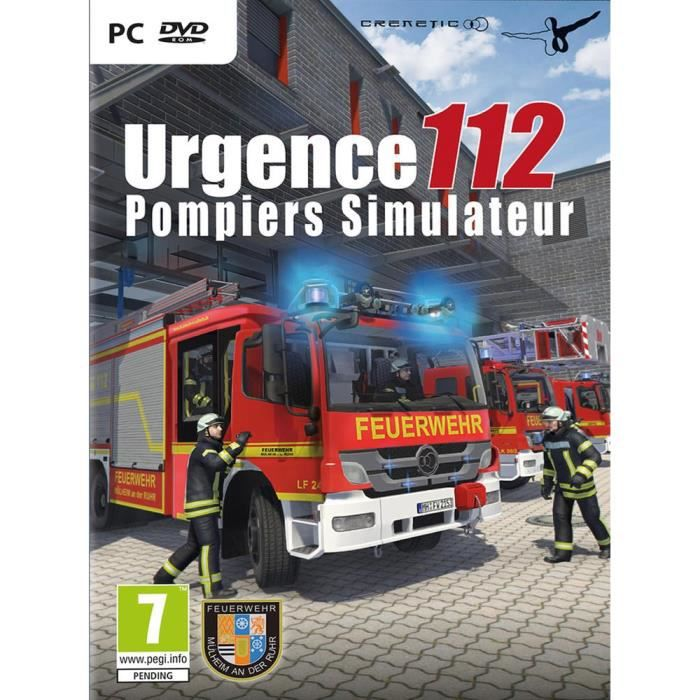 urgence 112 pompiers simulateur jeu pc achat vente jeu pc urgence 112 pompiers sim cdiscount. Black Bedroom Furniture Sets. Home Design Ideas