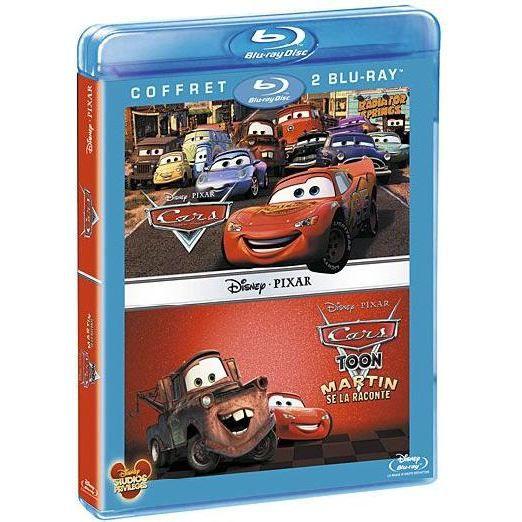 BLU-RAY DESSIN ANIMÉ Blu-Ray Cars toon ; cars 1
