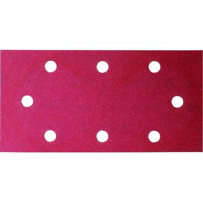 BOSCH Accessoires - abr. vibr. b&d auto -agrippant 93x230/g120/8trous