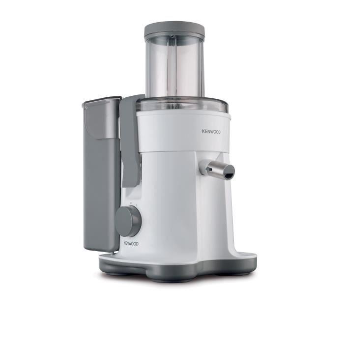 Centrifugeuse - Puissance : 800 W - 2 vitesses - Système APEX d'éjection de la pulpe - Large cheminée de 85 mm - Robinet anti-gouttes - Bol à jus de 1.5 LCENTRIFUGEUSE DE CUISINE