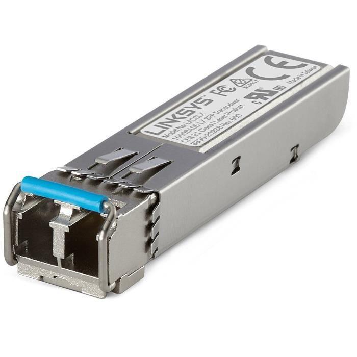 LINKSYS LACGSX Module émetteur-récepteur SFP, 1000 base SX