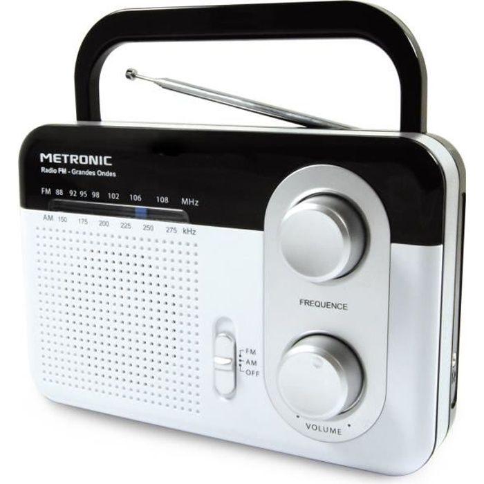 MET 477220 Radio FM grandes ondes