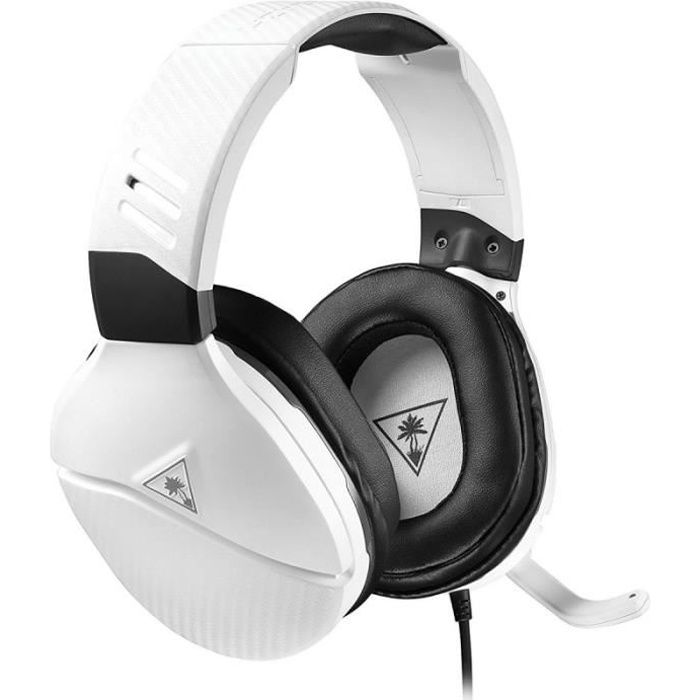 Turtle Beach - Casque Gamer - Recon 200 Blanc (compatible PS4/Xbox/Switch/PC/Mobile) - TBS-3220-02