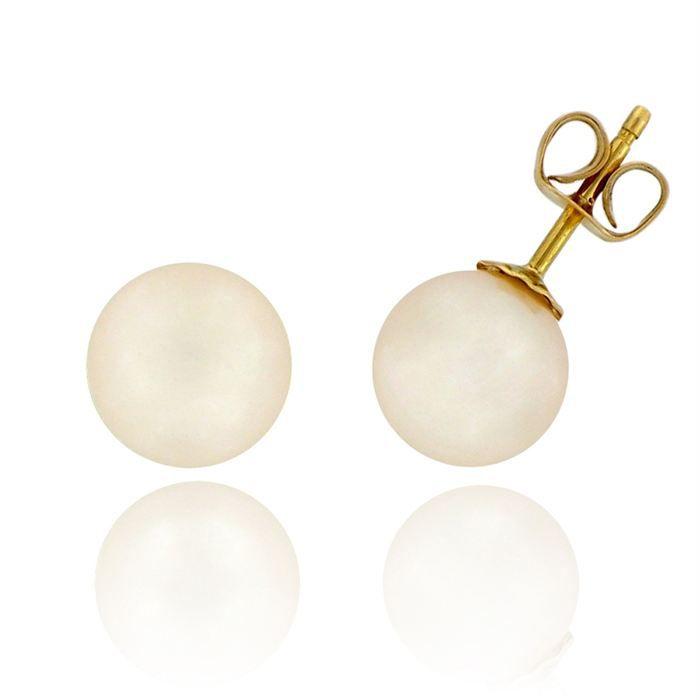 RÊVE DE DIAMANTSBoucles Or 750° Perles