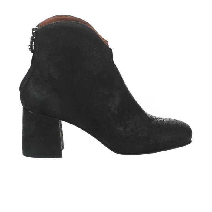 Boots femme - MANUFACTURE D'ESSAI - Noir - 8667 SAVONA - Millim