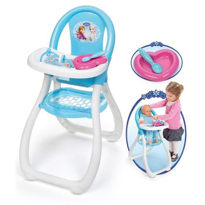 la reine des neiges chaise haute disney achat vente accessoire poupon cdiscount. Black Bedroom Furniture Sets. Home Design Ideas