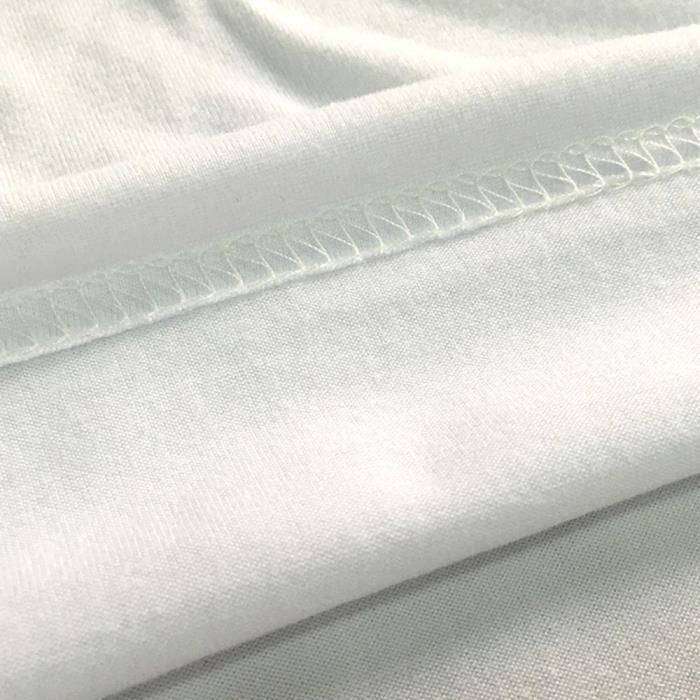 Printemps T Impression shirt Chat Manche Courte Été Femmes Mignonne Blanc O cou rECrAxqOw