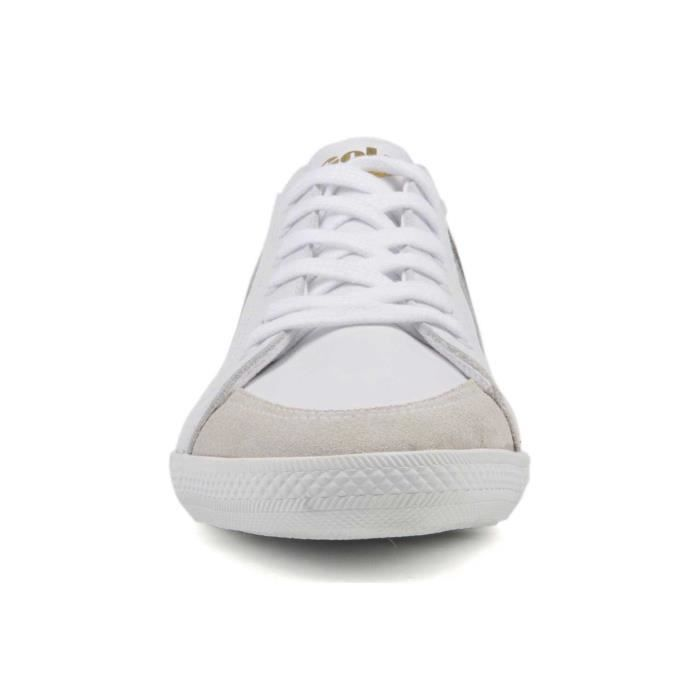 Blanc Chaussure Pointure 41 Gola Quad Basse Homme Cuir 4PP7Iw