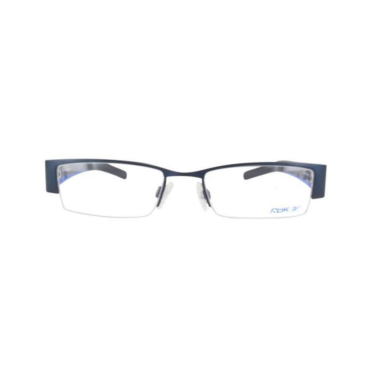 reebok lunettes femme bleu
