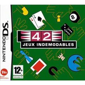 JEU DS - DSI 42 JEUX INDEMODABLES / NDS
