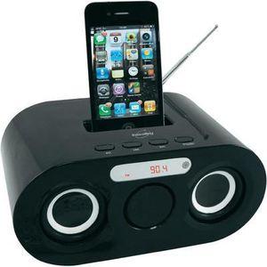 STATION D'ACCUEIL Station d'accueil MP3 iPod-iPhone noire-Accessoire