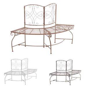 banc rond de jardin achat vente pas cher. Black Bedroom Furniture Sets. Home Design Ideas