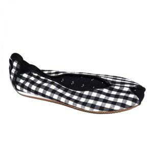 BLACK OSIRIS WHITE LOVELY samples WOMEN shoes BALLERINE Egx6EwIq