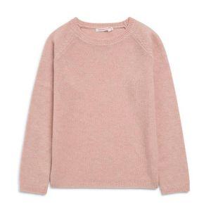 Pull en laine et cachemire rose achat vente pull for Pull cachemire enfant