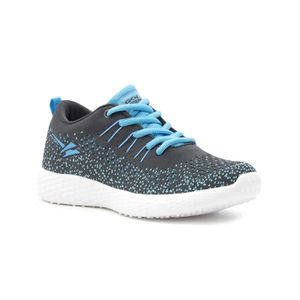DERBY Women's Active Grey Lace Up Trainer 3CIQKL Taille-
