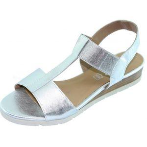 SANDALE - NU-PIEDS JASMINE Sandale élastiquée à talon compensé chauss