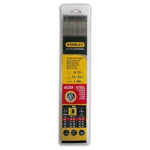 FIL DE SOUDURE STANLEY 460820  Lot de 50 électrodes rutiles acier